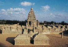 Hindu temple facility in Mahabalipuram, Tamil Nadu