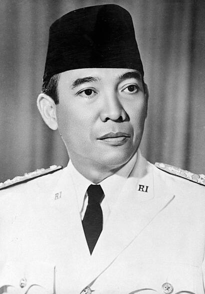 Achmed Sukarno ruled Indonesia from 1950 to 1967