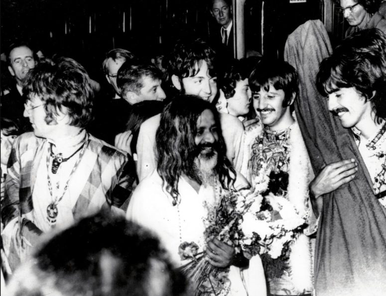 The Beatles were inspired by Indian philosophy and music