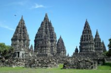 The Hindu temple of Prambanan in Java