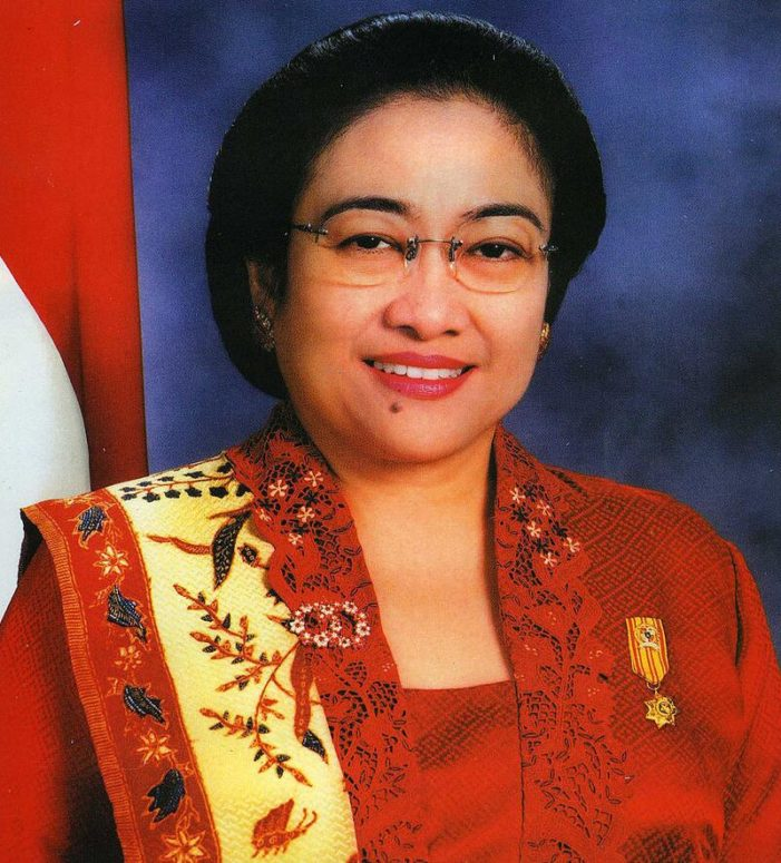 Megawati Sukarnoputri became Indonesia's first female president in 2001.