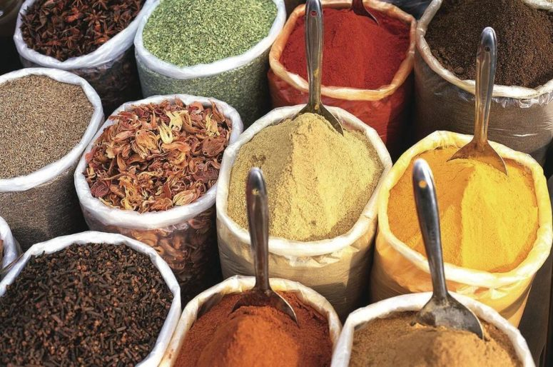 Spices are very important in Indian cuisine