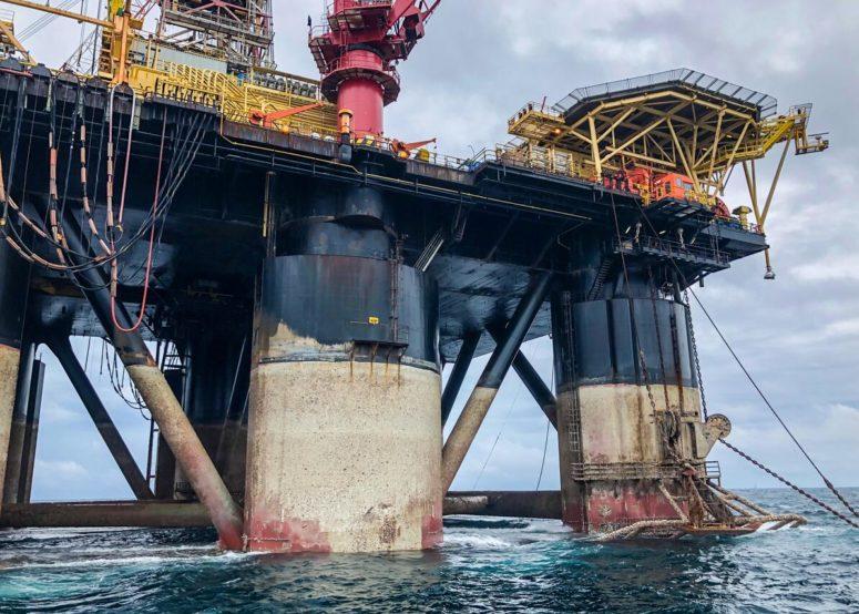 Drilling rig in Balikpapan