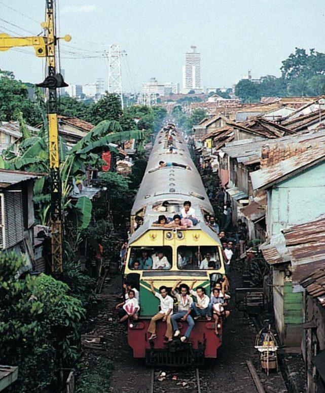 Indonesia's rail network