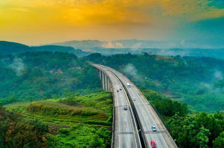 Road bridge in Java