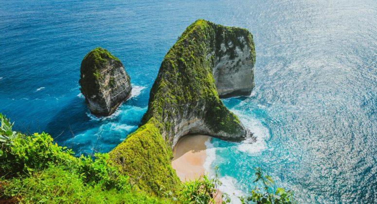 Bali has many beautiful beaches