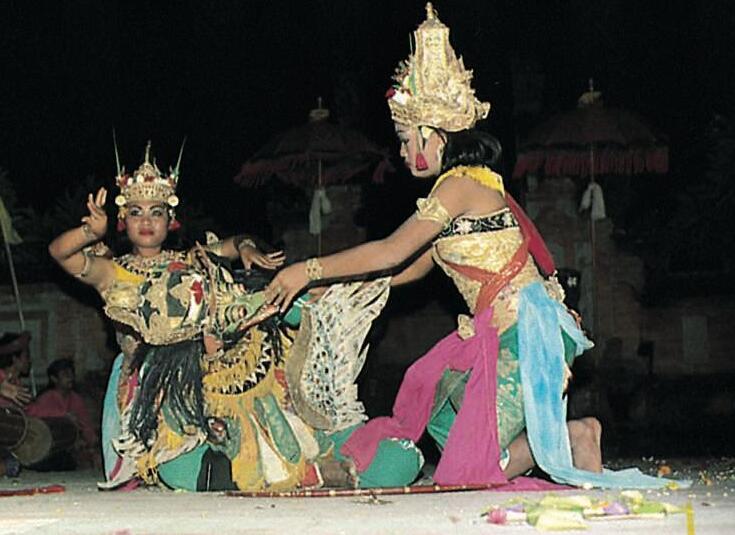 Balinese dance drama