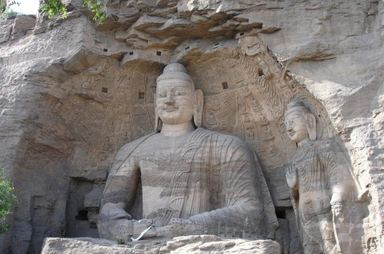 Buddha from the Yungang Caves