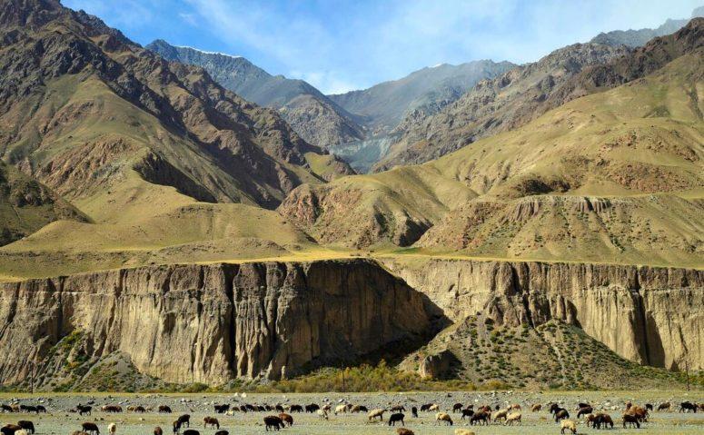 Kyrgyzstan is a distinct mountain country