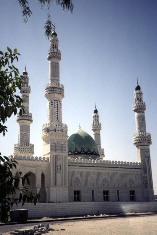Imam Hussein Mosque in Kuwait City was completed in 1986