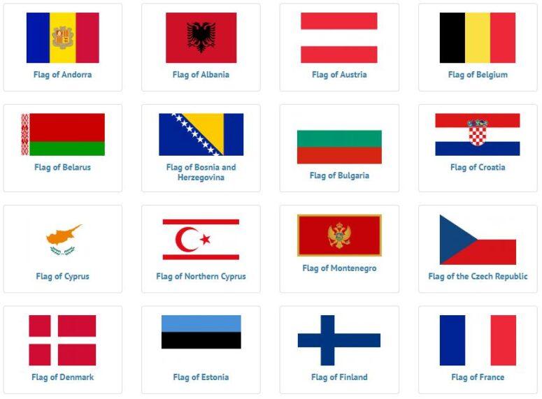 European Flags 1