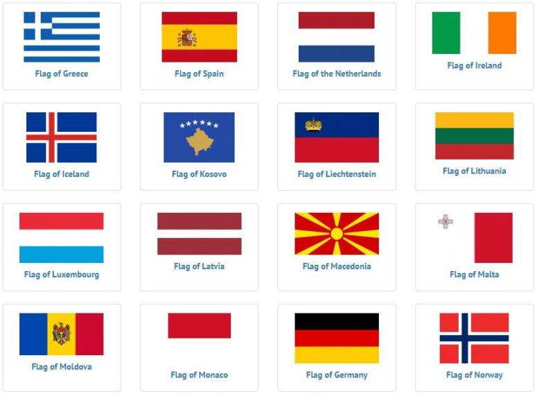 European Flags 2