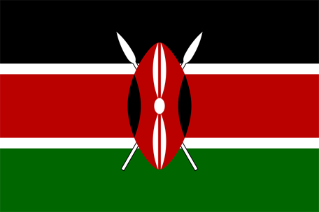 Kenya Emoji flag