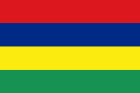 Mauritius Emoji flag