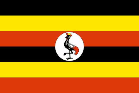 Uganda Emoji flag