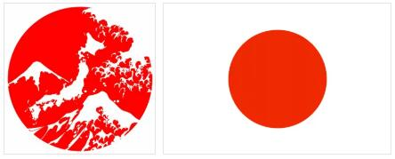 Japan Flag and Map