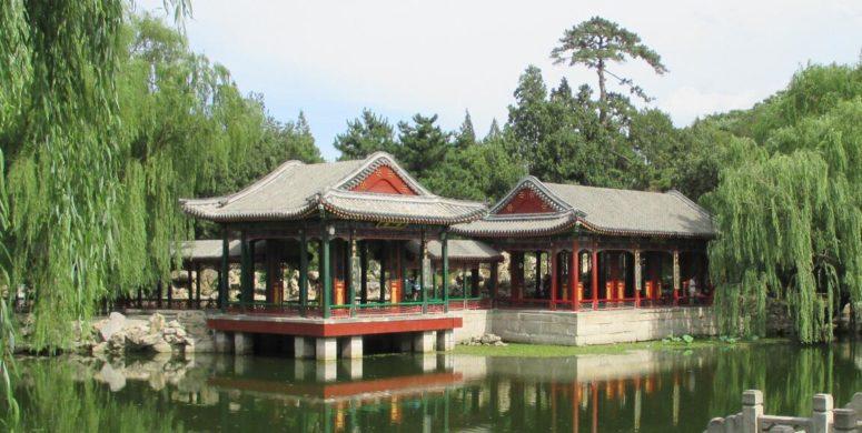 Garden art in China