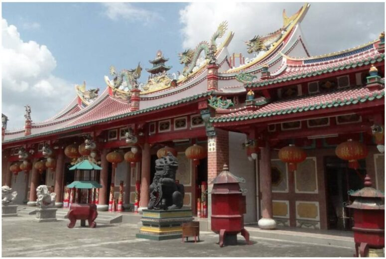 Chinese temple in Medan