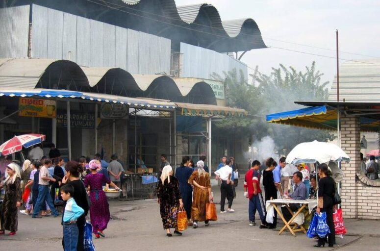Bazaar in Uzbekistan
