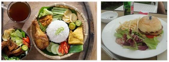 Eating in Indonesia