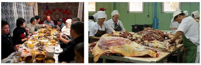 Eating in Kazakhstan