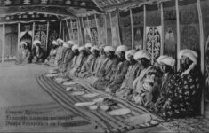 Uzbekistan Dignitaries visit the Emir v. Bukhara