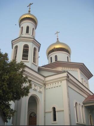 Uzbekistan Orthodox Church, Tashkent region