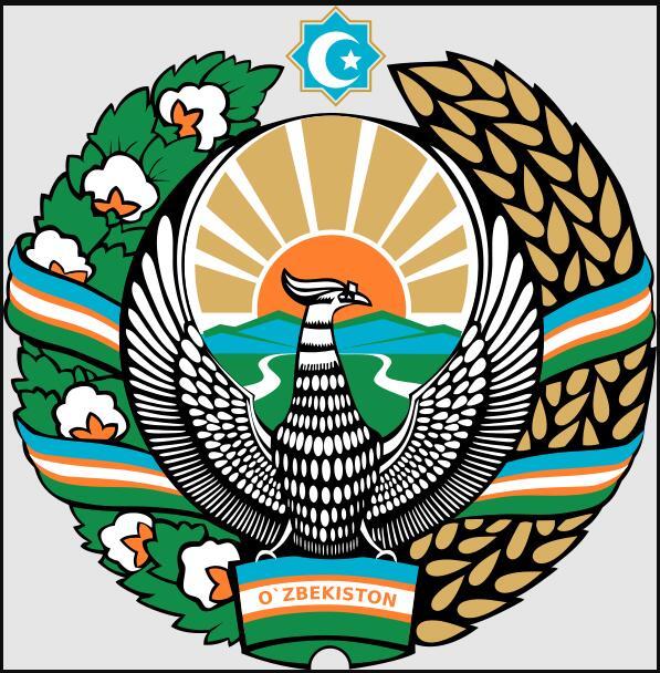 Uzbekistan State coat of arms